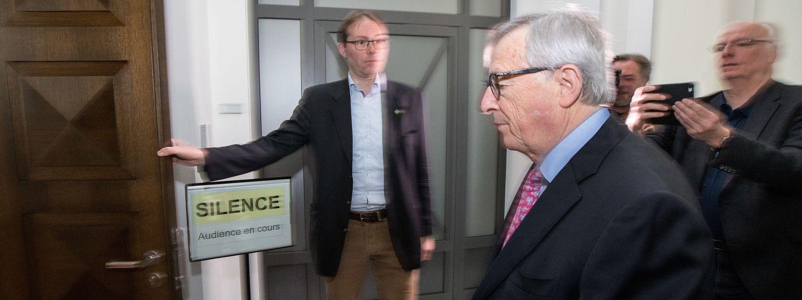 Jean-Claude Juncker trug als Staatsminister 2007 die Verantwortung für den SREL. Er sagte am zweiten Verhandlungstag als Zeuge aus.