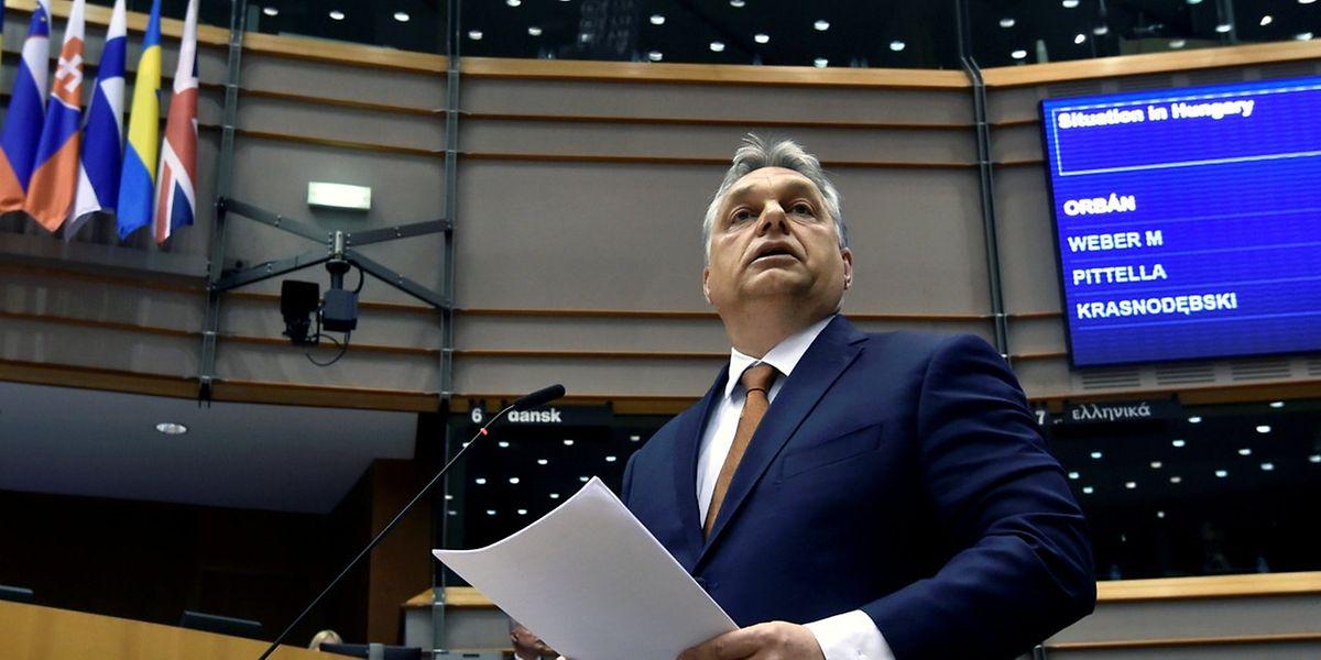 Das Votum gegen Viktor Orbans Regierungsstil kam mit den Stimmen der konservativen EVP zustande.