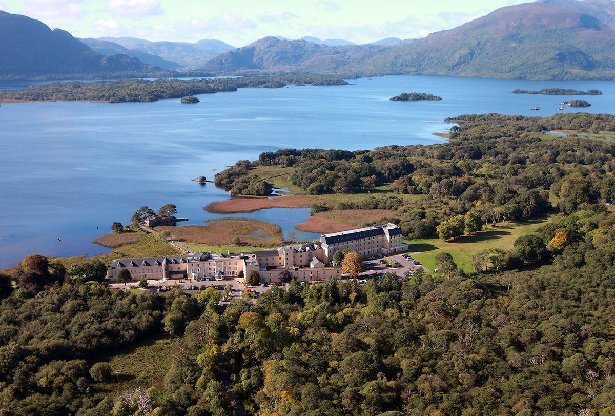 Nur Berge und Seen: Das «Lake Hotel» im irischen County Kerry ist ein Landhaus aus dem 19. Jahrhundert.