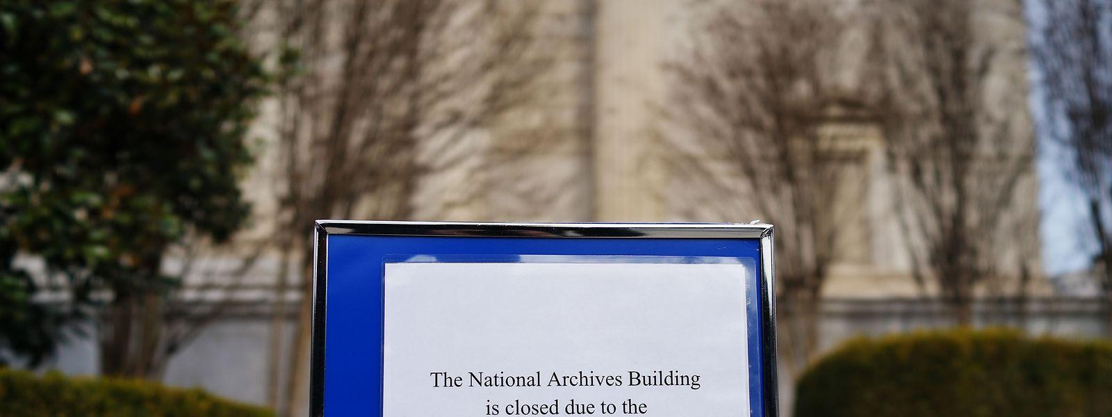 Zahlreiche öffentliche Einrichtungen blieben am Montag geschlossen.