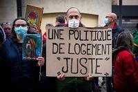 Protest in Esch wegen WGs  - Foto : Pierre Matgé/Luxemburger Wort