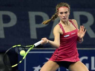 12 Tennis BGLBNP Paribas Luxembourg Open 2016 auf Kockelscheuer am 15.10.2016 Eleonora MOLINARO (LUX)