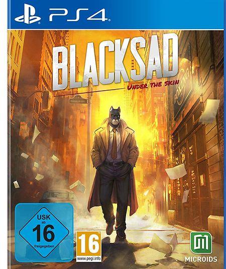 """""""Blacksad: Under the Skin"""" ist erhältlich für Xbox One, PS4, Switch und PC."""