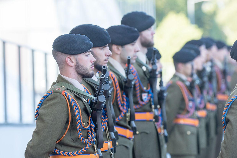 Der offizielle Festakt in der Philharmonie zum Nationalfeiertag 2019.