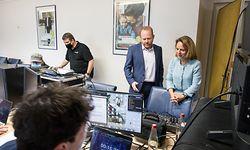IPO , DP , Digitaler Kongress , Corinne Cahen , Claude Lamberty , Foto:Guy Jallay/Luxemburger Wort