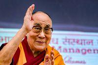 Der Dalai Lama, das spirituelle Oberhaupt der Tibeter, wird am Montag 85 Jahre alt.