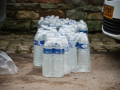 Relief centres will still be distributing safe drinking water in many areas of the Ernz Valley through Monday evening.