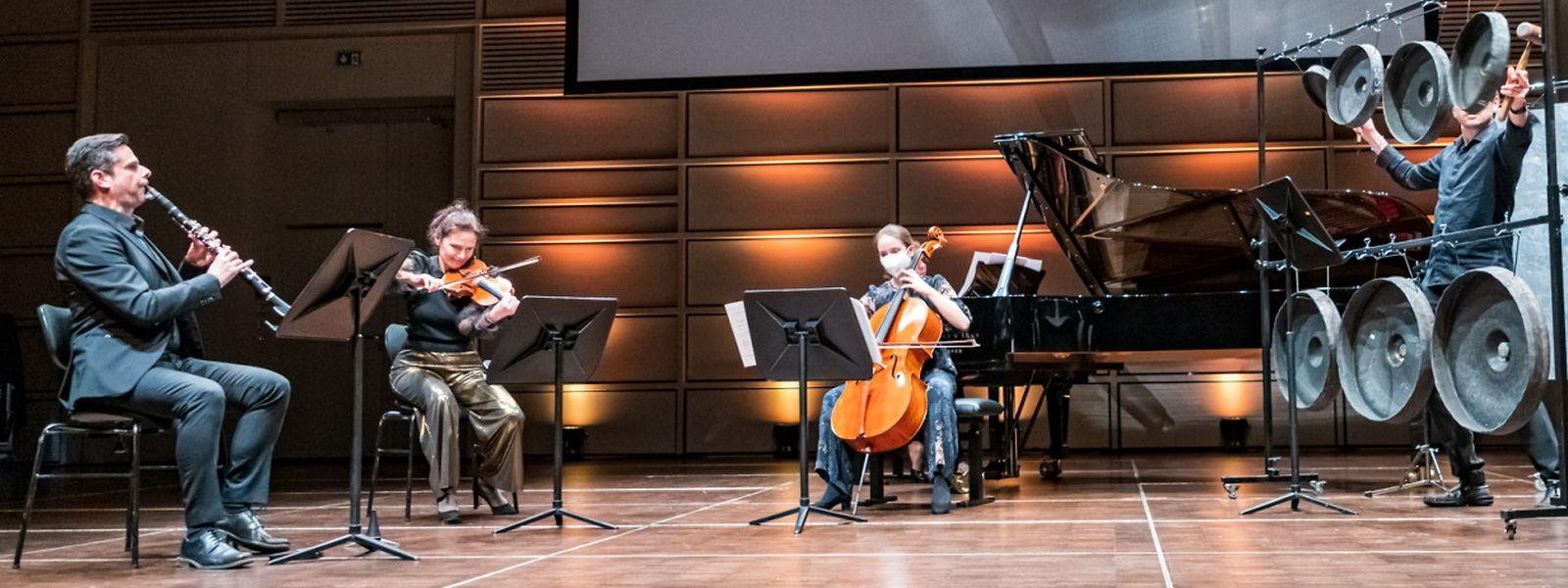 Le concert de présentation a eu lieu au Trifolion d'Echternach.