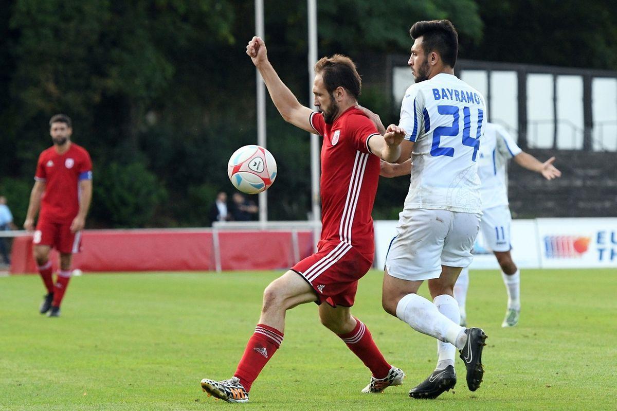 Veldin Muharemovic devance Fuad Bayramov. Le Fola poursuit son parcours européen.