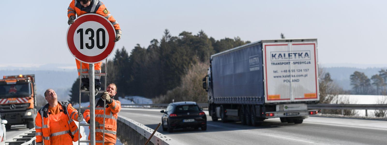 Bereits jetzt gilt an vielen Autobahn-Abschnitten in Deutschland ein Tempolimit.