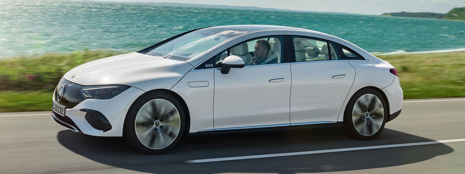 Neues Elektroauto von Mercedes: Der EQE bietet sich als Alternative zur konventionellen E-Klasse an.