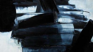"""""""Peinture 162 x 130 cm, 14 avril 1962"""" by Pierre Soulages"""