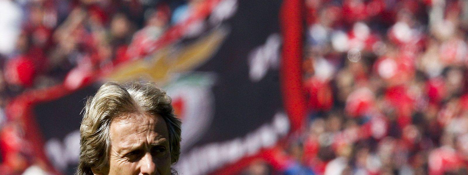 O treinador encarnado já perdeu com o Sp. de Braga por duas vezes esta época