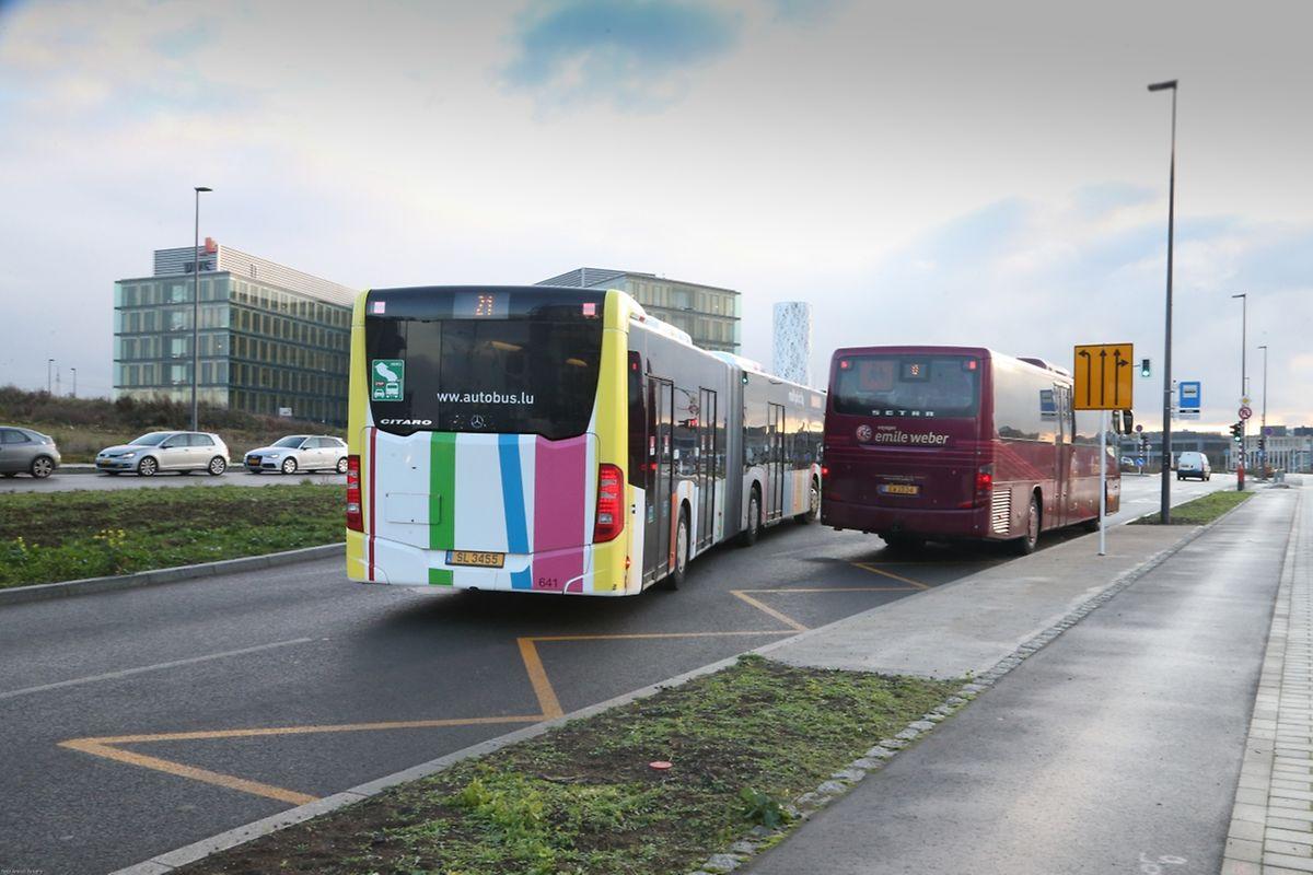 """Après les vacances d'hiver, la Ville de Luxembourg va augmenter la liaison régulière depuis la gare centrale jusqu'à l'arrêt """"francophonie"""" qui se trouve sur le boulevard Kockelscheuer, à une fréquence de 8 à 10 courses par heure et par direction."""