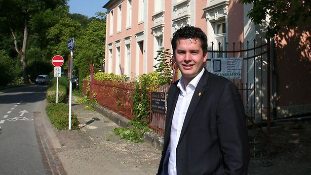 Lex Delles, Mondorf's deputy major and DP politician