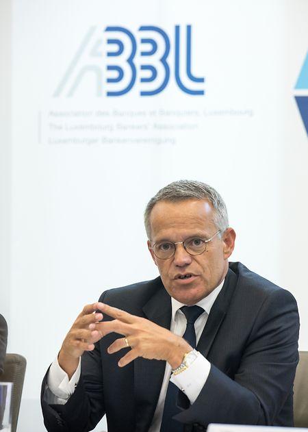 ABBL-Präsident Guy Hoffmann