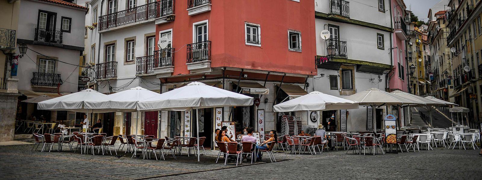 Bairro de Alfama, em Lisboa.