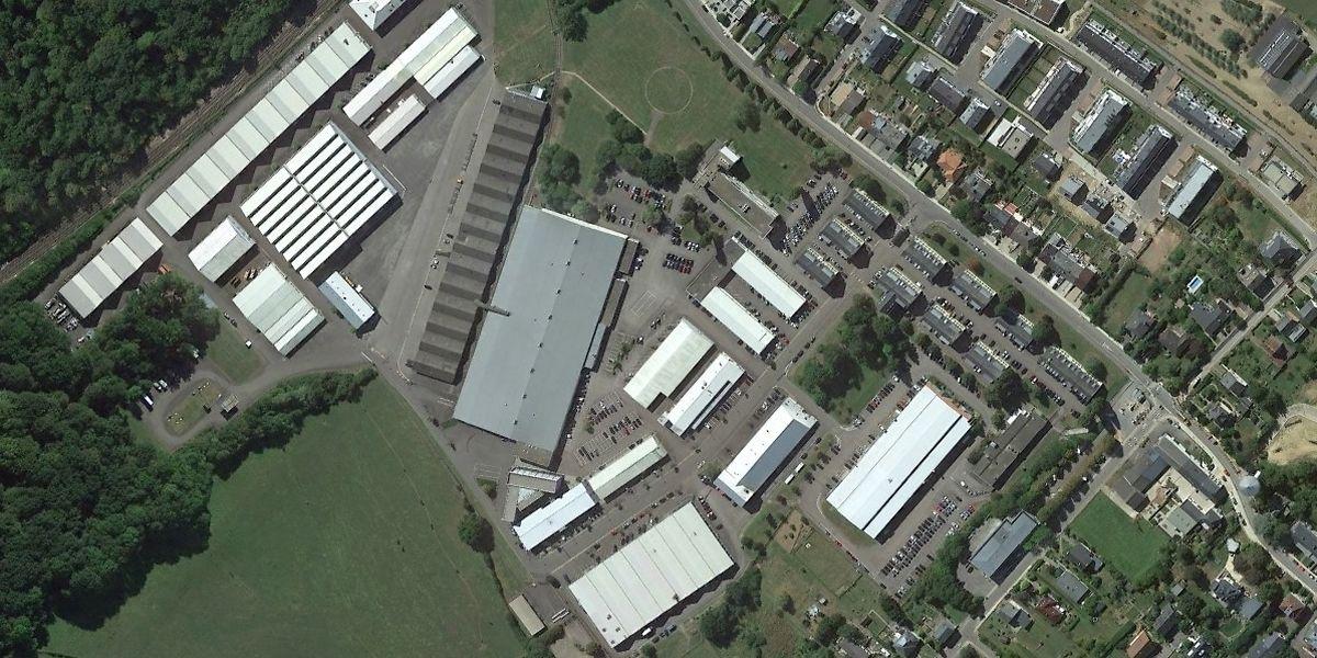 Actuellement composé d'une quarantaine de bâtiments, le site de la NSPA à Capellen doit être modernisé et rationalisé d'ici à 2035.