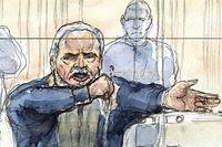 """Ilich Ramírez Sánchez in Paris vor Gericht: """"Ein abgekartetes Spiel der Staatsanwalt"""""""