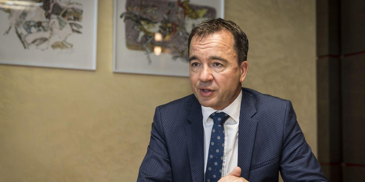 """""""Luxemburg bietet ein sehr internationales Umfeld, das wie geschaffen ist für Kunden aus aller Welt"""", so Falk Fischer, CEO von Julius Baer Luxembourg."""
