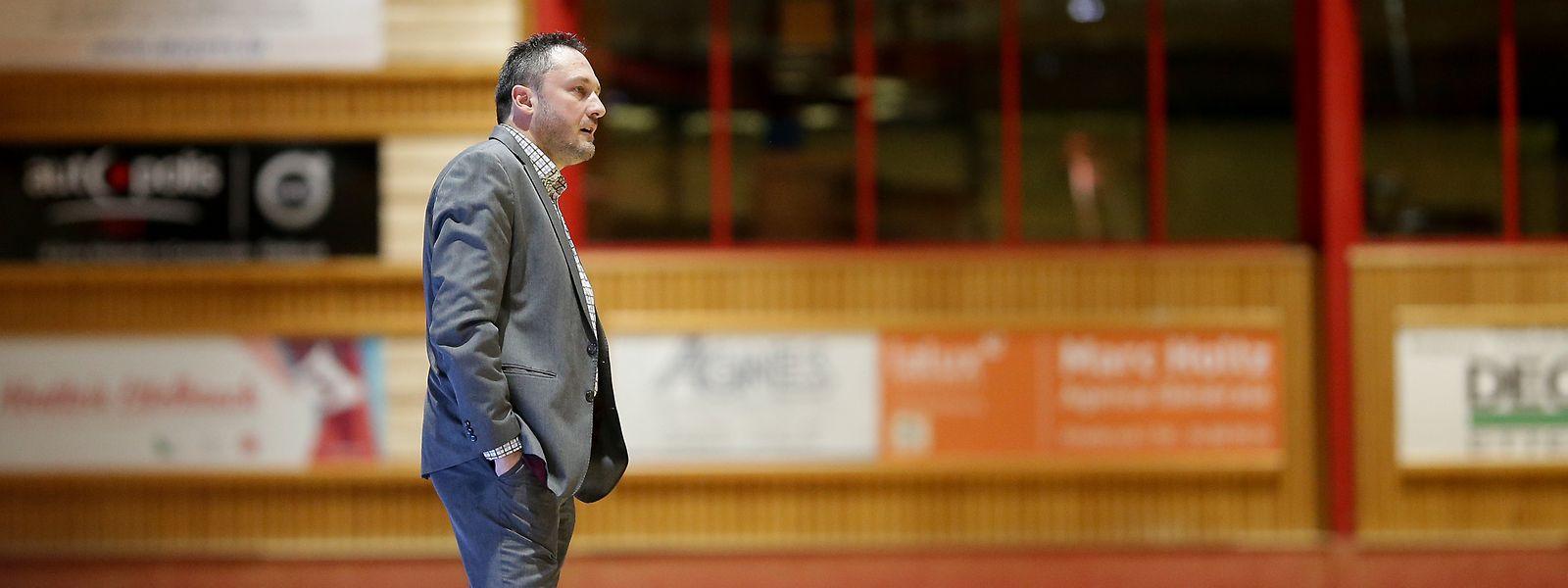 Der Vertrag von Etzella-Coach Kresimir Basic wurde noch nicht verlängert.