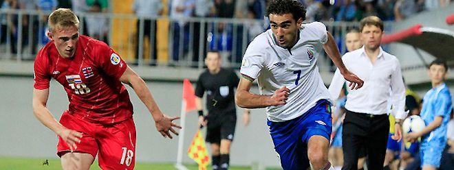 7 juin 2013. Le dernier Azerbaïdjan - Luxembourg, avec Laurent Jans à la course, s'était clôturé sur un nul un but partout