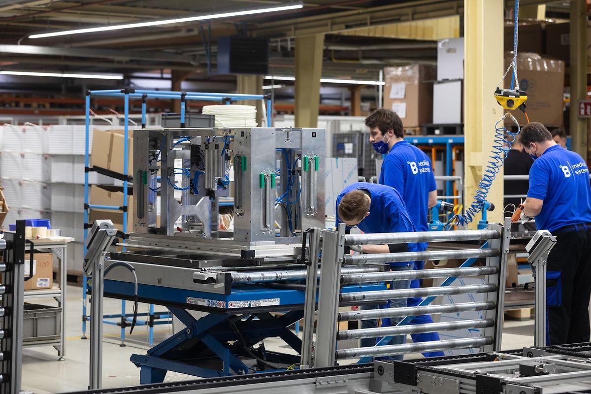Mit den bestehenden Kapazitäten in Hosingen kann das Unternehmen die Nachfrage langfristig kaum befriedigen.