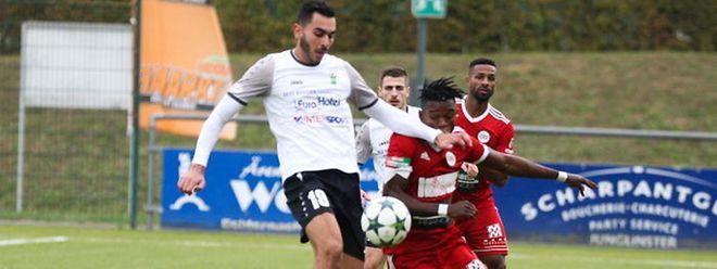 Rayane Laouira a inscrit jusqu'à présent six buts sous le maillot de Junglinster en Promotion.