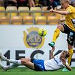 Lars Gerson a joué à gauche dans une défense à trois face à Elfsborg.