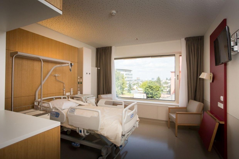 Die neue Geburtsklinik umfasst 32 Einzelzimmer...