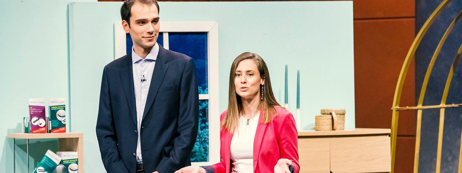 Jill Audrit und Adel Adrovic aus Luxemburg.