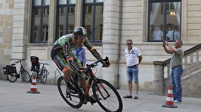 Frenchman Damien Gaudin was the fastest in the prologue of the Skoda Tour de Luxembourg.