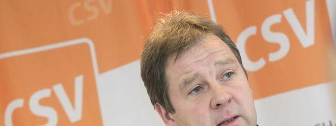 Michel Wolter ist von dem Verhalten der drei kleineren Parteien enttäuscht.