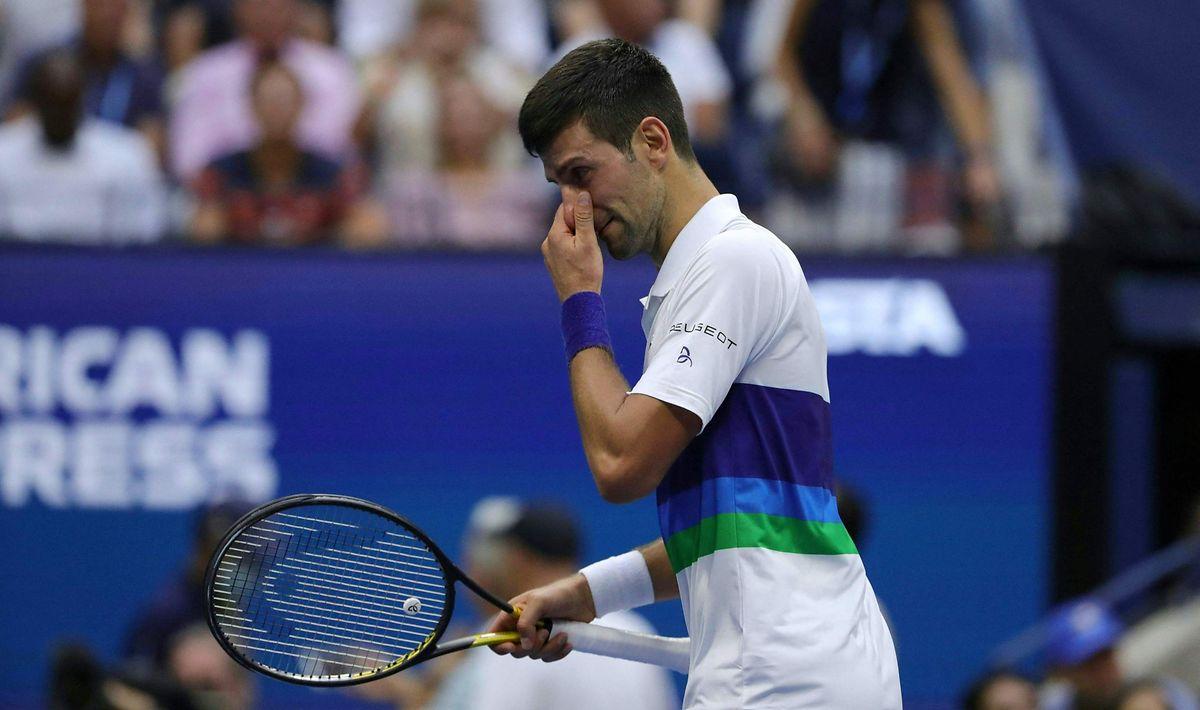 Novak Djokovic hatte nicht seinen besten Tag erwischt.