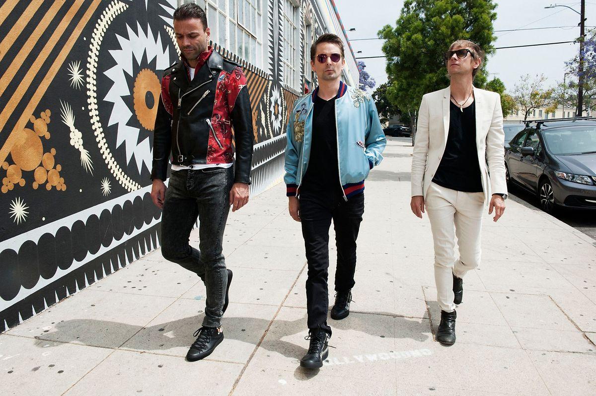 """Die Fans hoffen auf ein neues Album noch in diesem Jahr: Auch die Band Muse ist bei """"Rock am Ring"""" am Start."""
