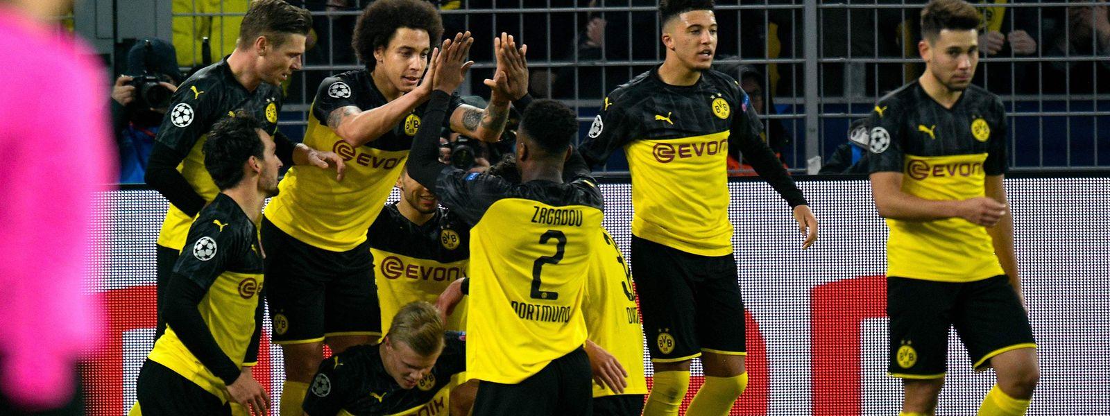 Le Borussia Dortmund est en ballottage favorable en vue du match retour