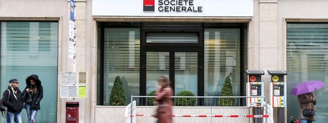 Une agence de la Société générale au Luxembourg