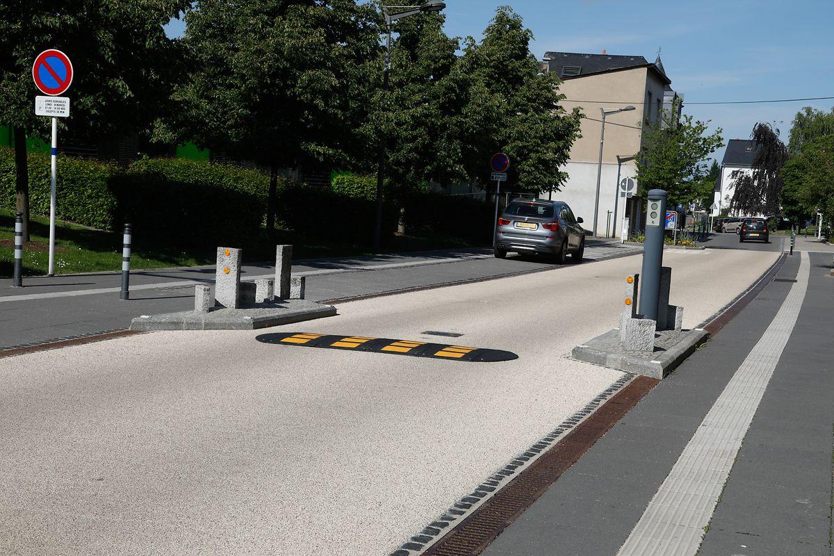 Viele Radfahrer wünschen sich, dass das Teilstück der Rue des Romain für Radfahrer im Gegenverkehr zugelassen wird.