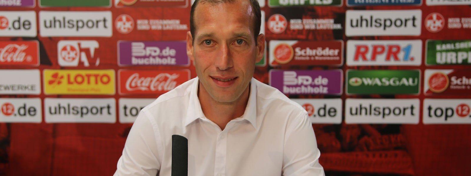 Jeff Strasser wurde am Mittwoch in Kaiserslautern vorgestellt.