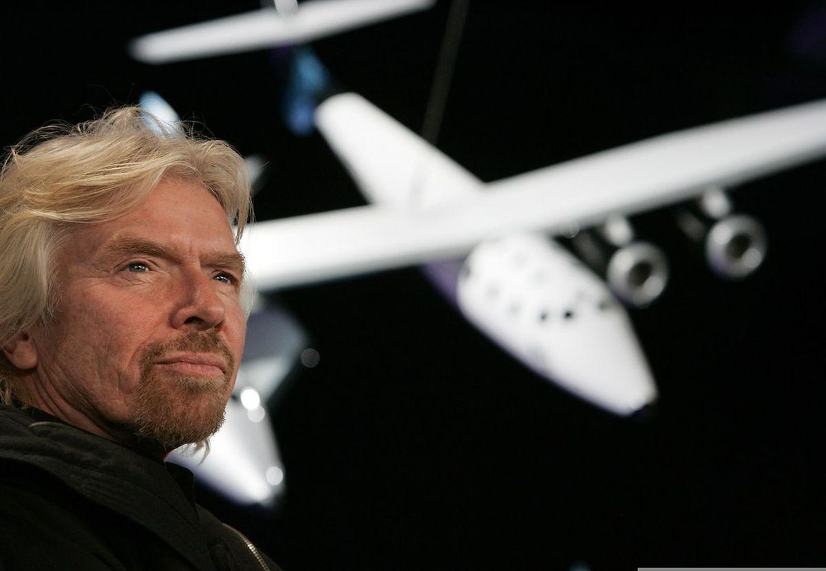 Sir Richard Branson wollte mit seinem Plan hoch hinaus.