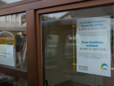 A partir d'aujourd'hui, la plupart des 35 bureaux de Post auront fermé leurs portes