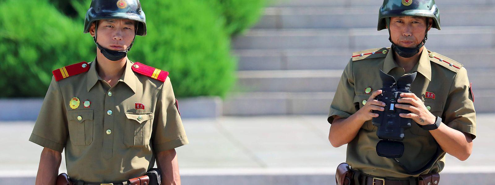 Am Samstag wurden drei ballistische Raketen von Nordkorea aus abgefeuert.