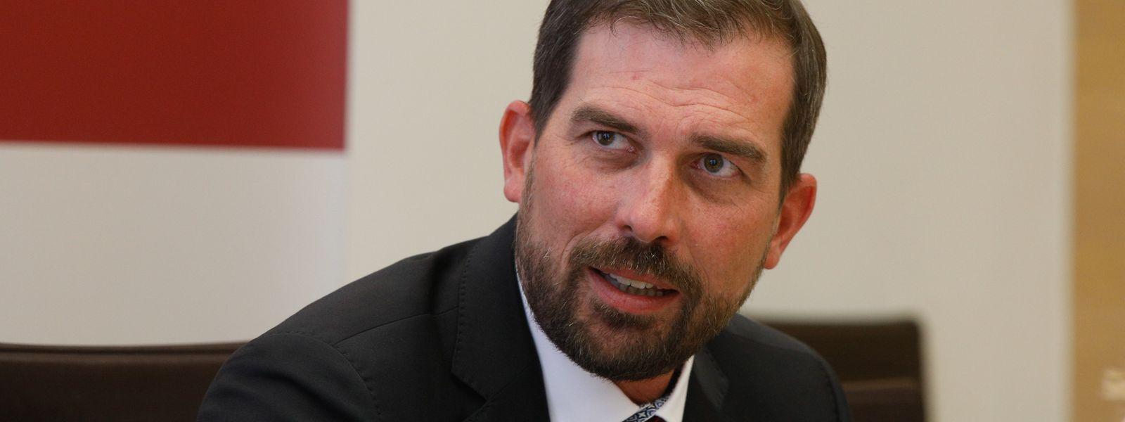 Yves Cruchten (LSAP) leitet den parlamentarischen Unterausschuss zur Zukunft Europas.