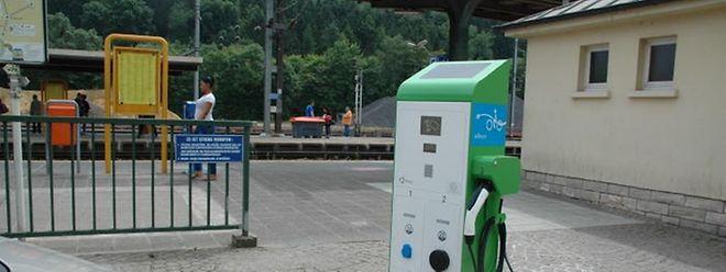 """Das Projekt """"eMovin"""" am Bahnhof Ettelbrück ging vor rund anderthalb Jahren ans Netz."""