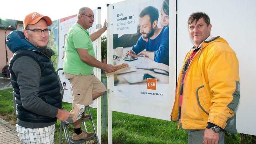 La course électorale est lancée: les affiches et slogans fleurissent depuis peu dans toutes les villes du pays.