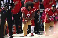 Oktober 2016: Colin Kaepernick lässt sich nicht entmutigen