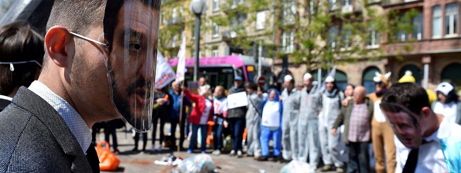 La société civile s'invite au G7 de Metz pour dénoncer «la mascarade» des grandes puissances face à «l'urgence climatique».