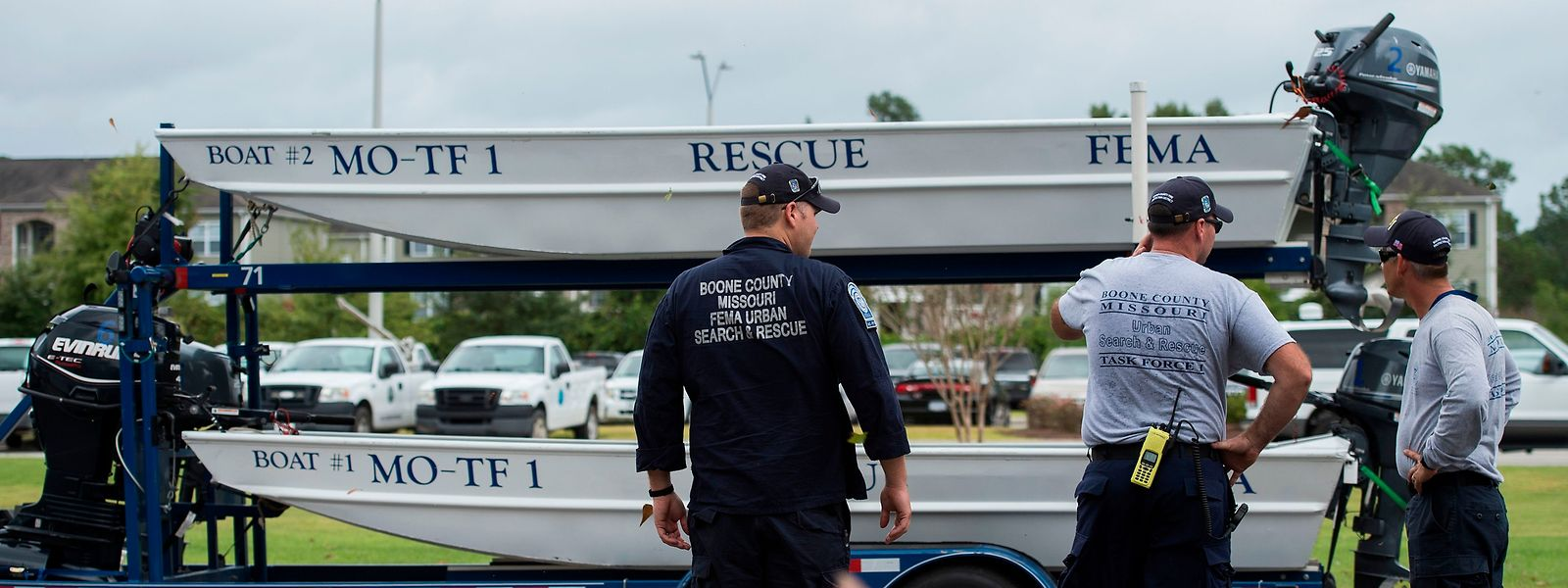 """Der Hurrikan """"Florence"""" soll nach Angaben der US-Behörden zwischen Freitag- und Samstagmorgen Ortszeit, vermutlich in den Bundesstaaten North Carolina oder South Carolina, auf Land treffen."""