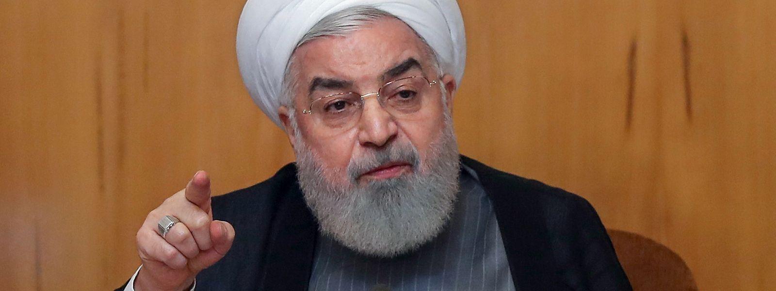 Le président Hassan Rouhani n'a pas reçu de soutien clair de son allié russe.
