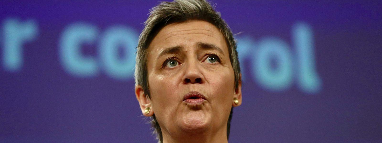 Trotz des Drucks aus Paris und Berlin bleibt Margrethe Vestager hart.